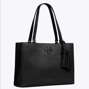 NWT Tory Burch McGraw Triple Compartment Tote